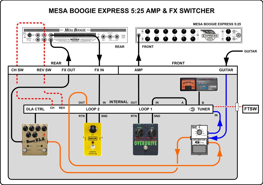 Switcher on guitar selector switch schematic diagram